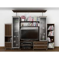 мебельная стенка модерн цвета венге