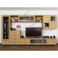 мебельная стенка классика цвета бук