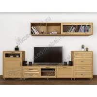 модульная мебельная стенка для спальни