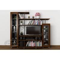 мебельная стенка под телевизор в классическом стиле