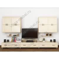 классическая модульная мебельная стенка