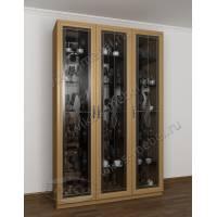 модульный шкаф-витрина классика