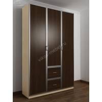 3-дверный шкаф для одежды в прихожую
