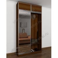 зеркальная узкая готовая прихожая