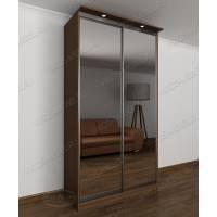 зеркальный шкаф с раздвижными дверями в спальню