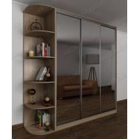 шкаф с раздвижными дверями для спальни цвета шимо светлый