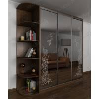 классический шкаф с раздвижными дверями для спальни