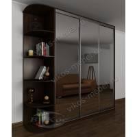 3-дверный шкаф с раздвижными дверями для спальни