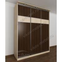 шкаф с раздвижными дверями с подсветкой в спальню