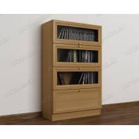 книжный шкаф библиотека цвета бук