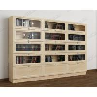 витражный шкаф для книг библиотека