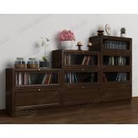 книжный шкаф со стеклянными дверями горка библиотека