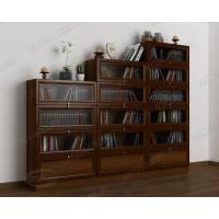 3-створчатый книжный шкаф горка