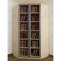 угловой шкаф для книг шириной 80-90 см