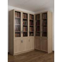 угловой угловой шкаф для книг