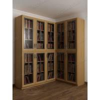 угловой шкаф угловой для книг