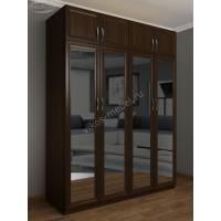 четырехстворчатый распашной шкаф для спальни
