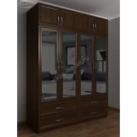 четырехдверный шкаф для спальни
