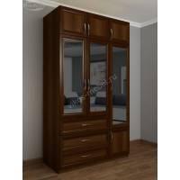 платяной шкаф с зеркалом в спальню