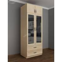 двухдверный распашной шкаф в спальню