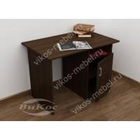 малогабаритный письменный стол цвета венге