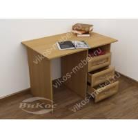 1-тумбовый стол в кабинет цвета бук