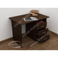 мини стол в кабинет цвета венге