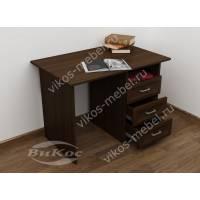 1-тумбовый стол в кабинет цвета венге