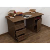письменный стол со шкафчиком с выдвижными ящиками