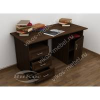 большой письменный стол цвета венге