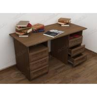 классический офисный стол с ящиками для мелочей
