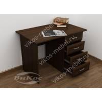 однотумбовый стол в кабинет с ящиками
