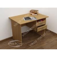 малогабаритный офисный стол с ящиками для мелочей