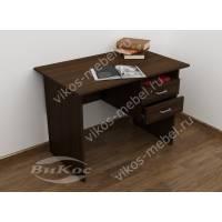 малогабаритный офисный стол цвета венге