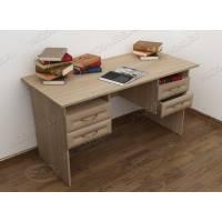 стол в кабинет с ящиками цвета шимо светлый