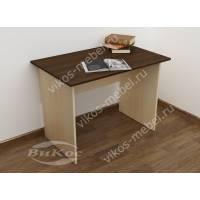 мини письменный стол цвета беленый дуб - венге