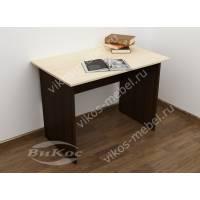 мини письменный стол цвета венге - молочный дуб