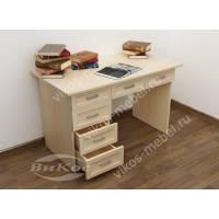 1-тумбовый маленький офисный стол
