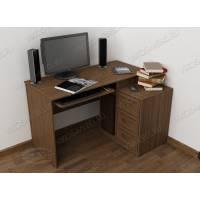 широкий классический стол компьютерный