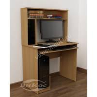 мини компьютерный стол с полками