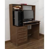 классический стол компьютерный с ящиками для мелочей