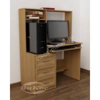 маленький стол компьютерный с ящиками для мелочей