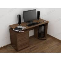 стол для компьютера с ящиками в классическом стиле