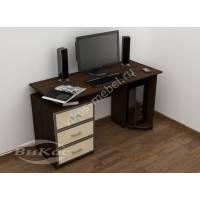 широкий прямой стол для компьютера